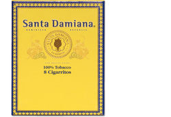 Santa Damiana Cigarritos 8St. Pack