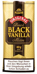 Danish Black Vanilla 40g Packung