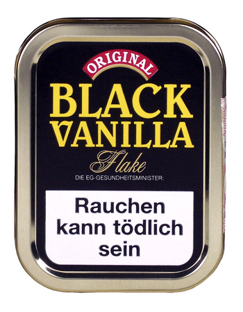 Danish Black Vanilla Flake 50g Dose