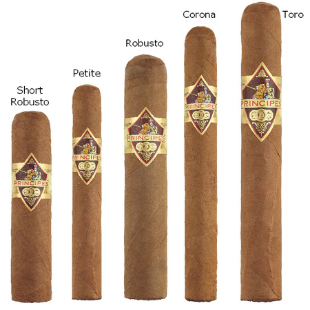 Principes Short Robusto 21x100mm