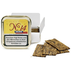 Pfeifentabak Vauen No.14 Virginia Flake 50gDose