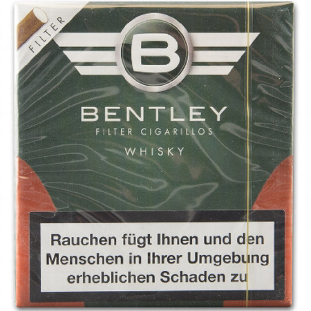 bentley cigarillo whisky filter, 6,50 €