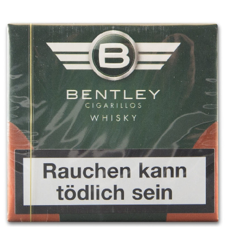 20 bentley cigarillo whisky, 6,50 €