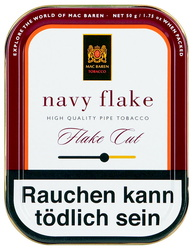 Mac Baren Navy Flake 50g. Dose
